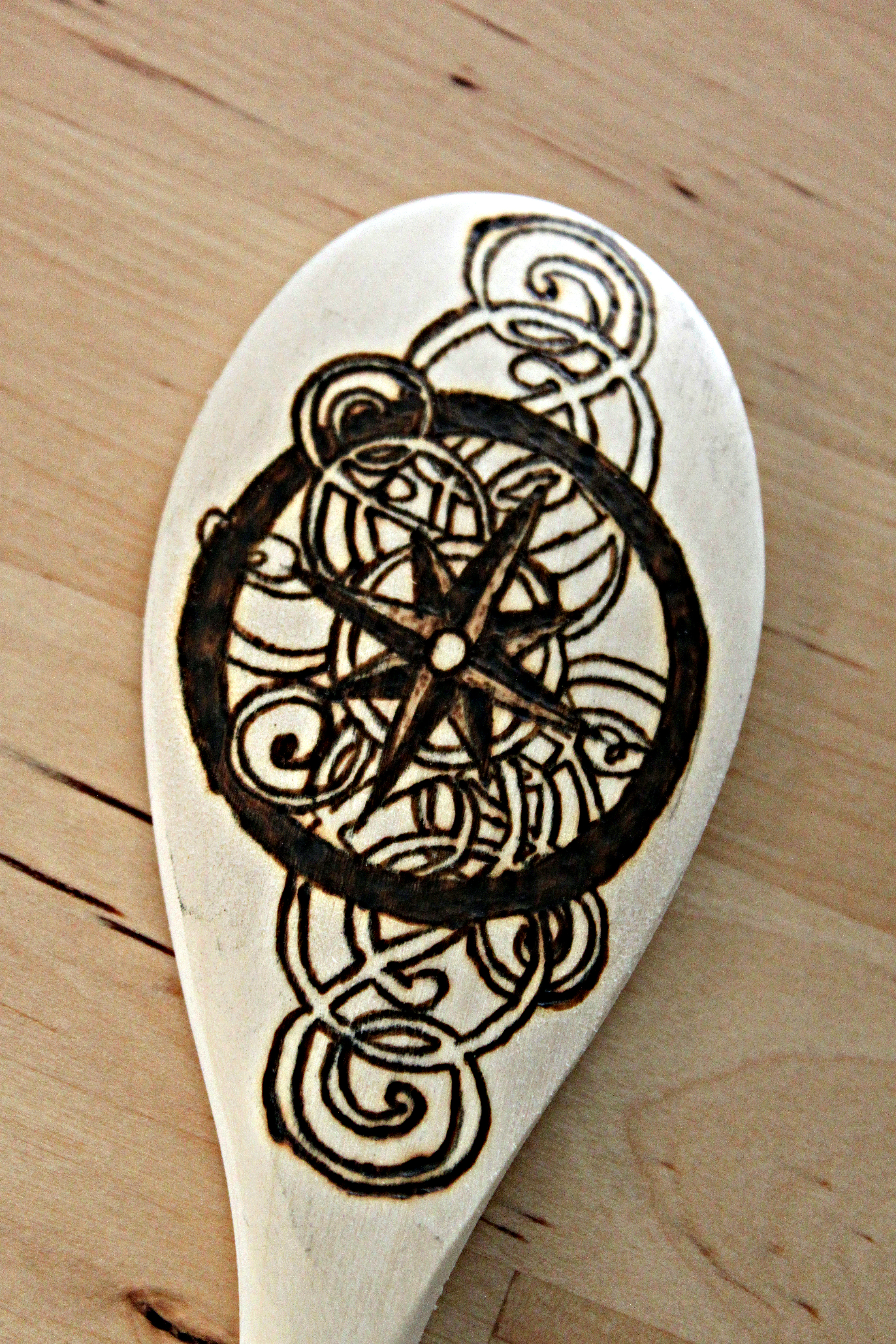 Compass Spoon