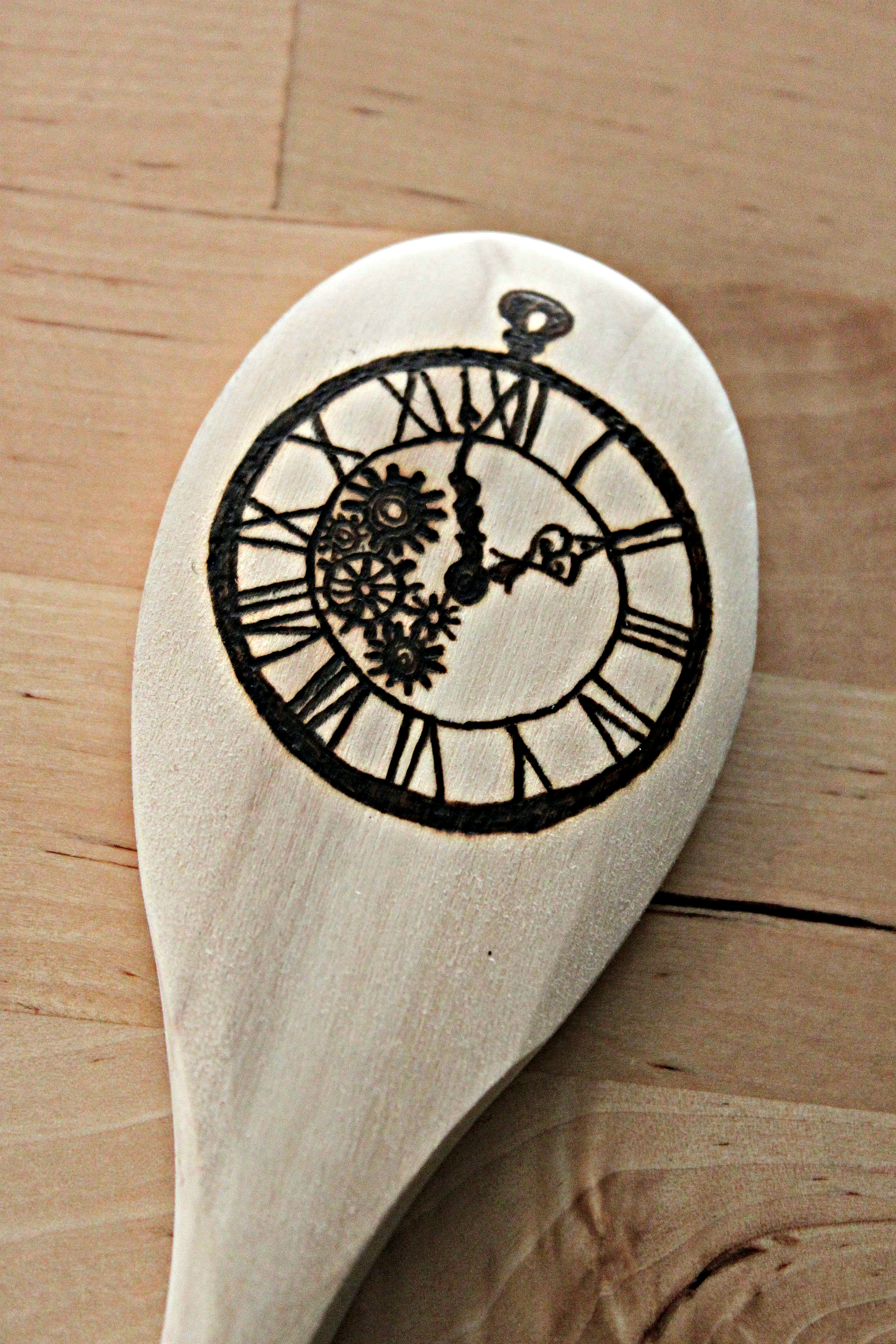 Pocketwatch Spoon