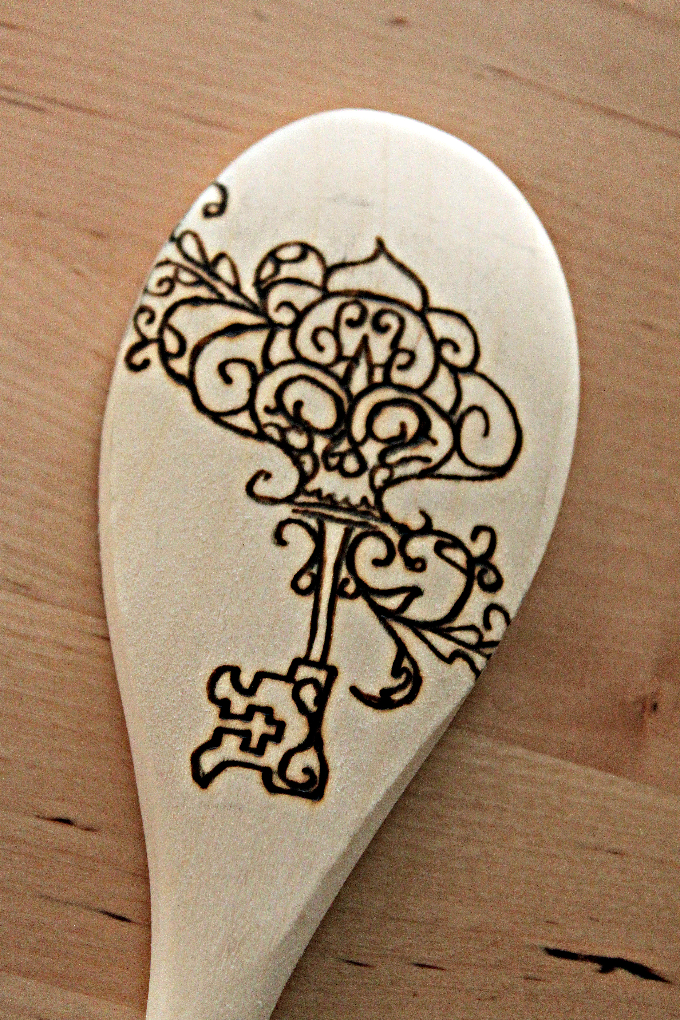 Skeleton Key Spoon