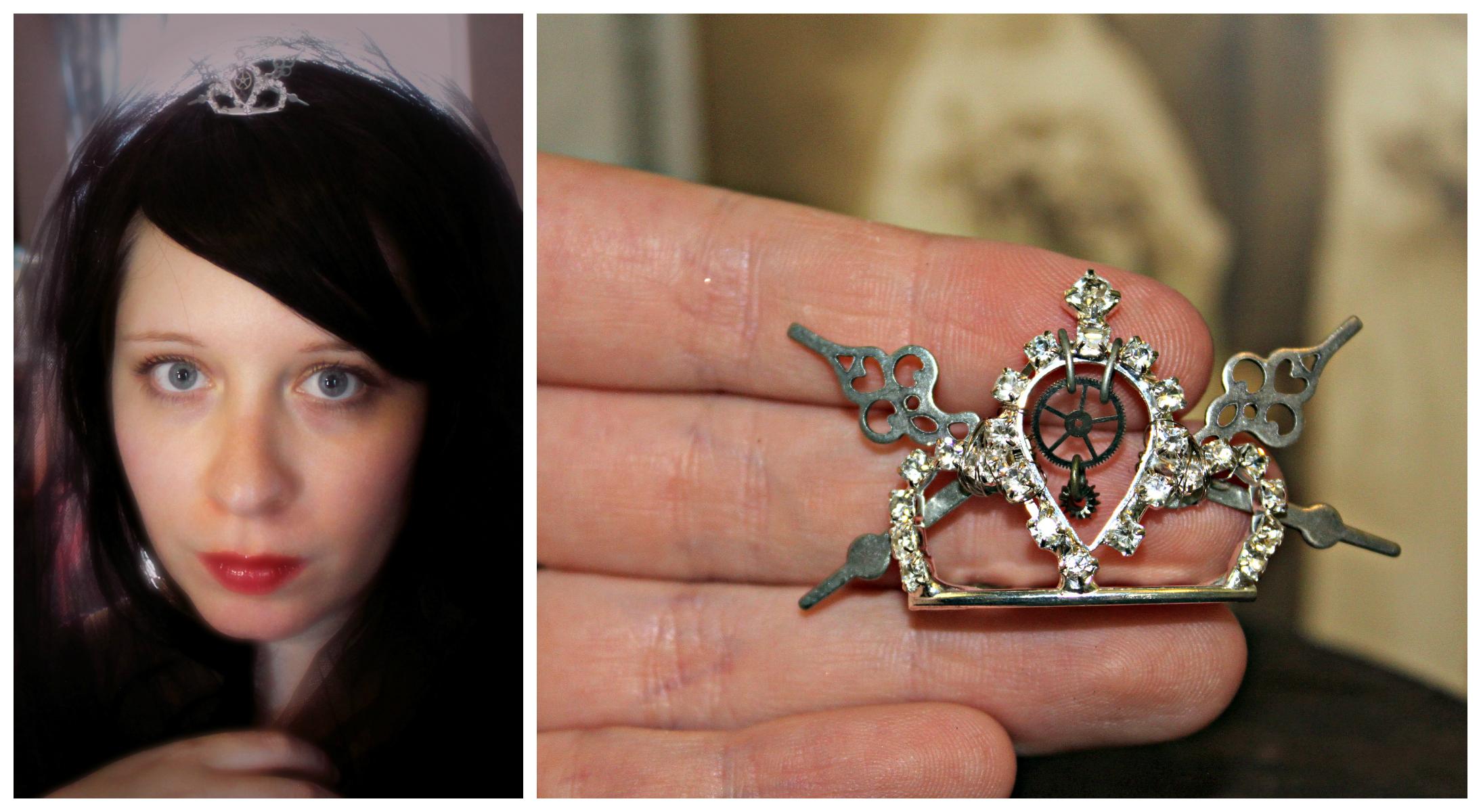 Steampunk Tiny Tiara Collage 1
