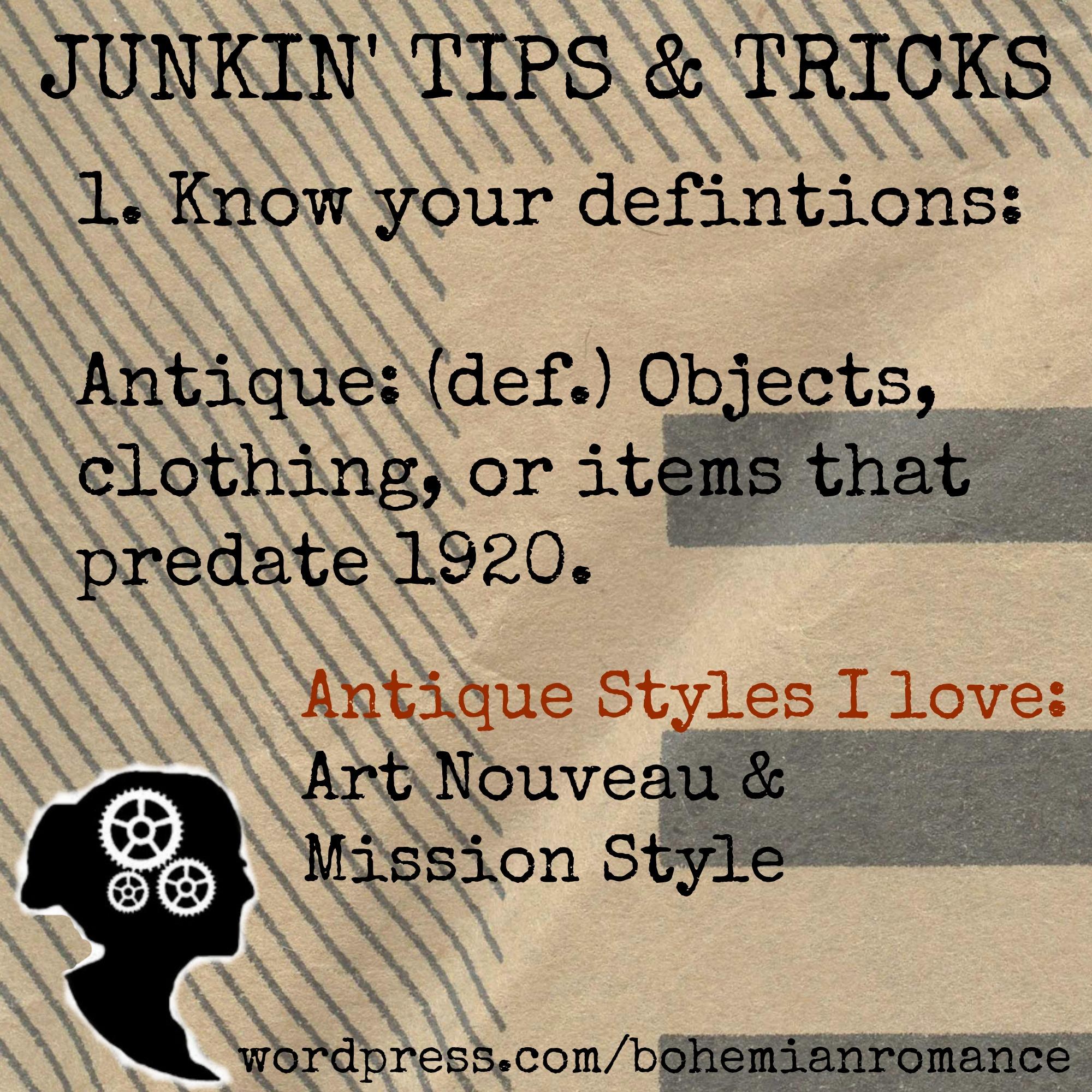 Junkin Tip 1