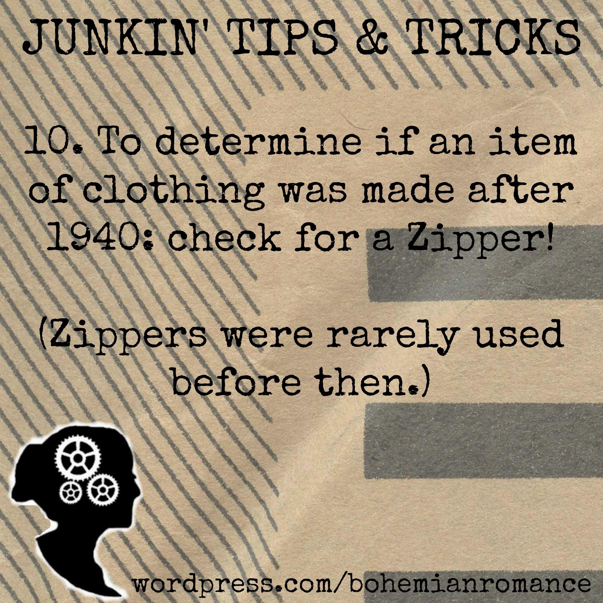 Junkin Tip 10