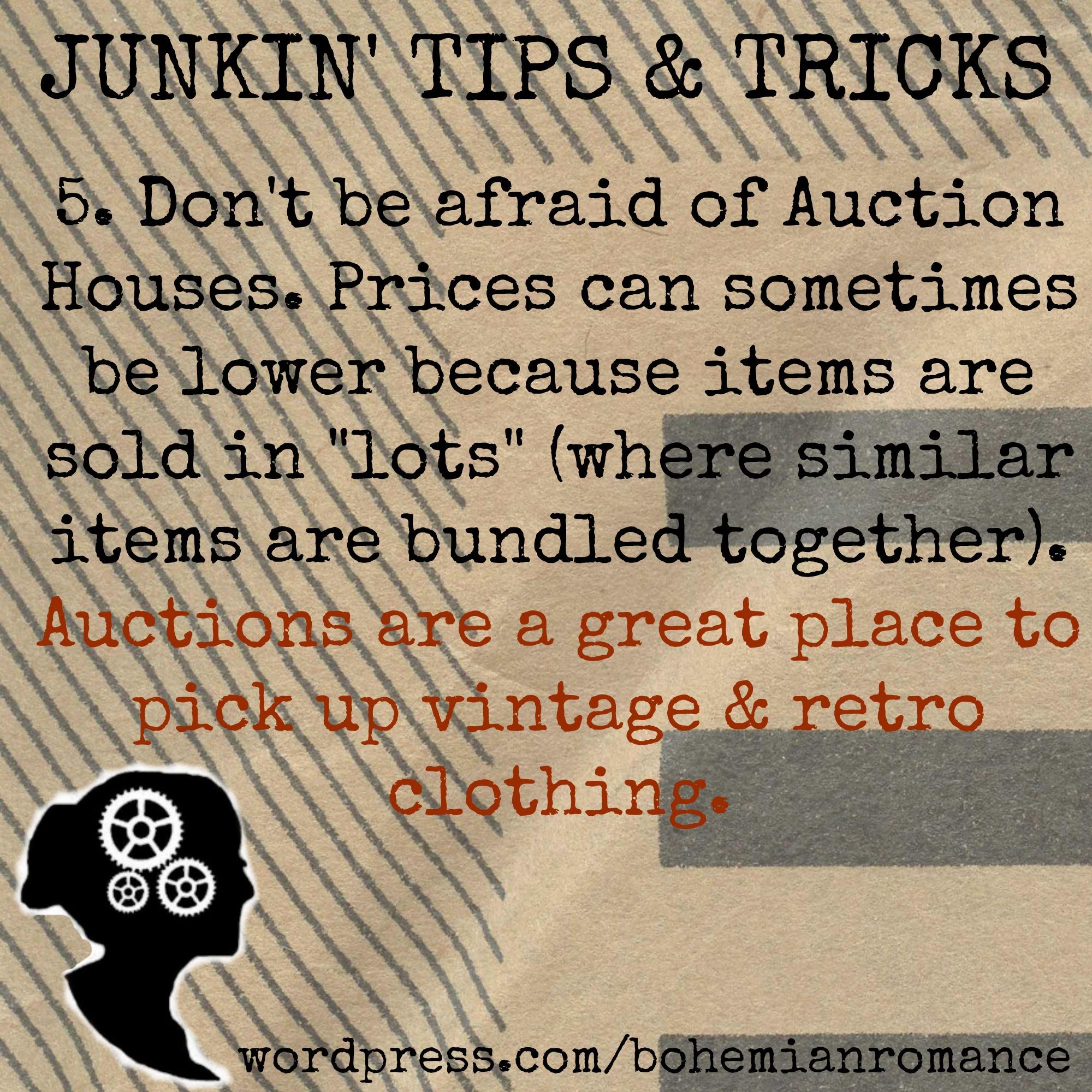 Junkin Tips 5