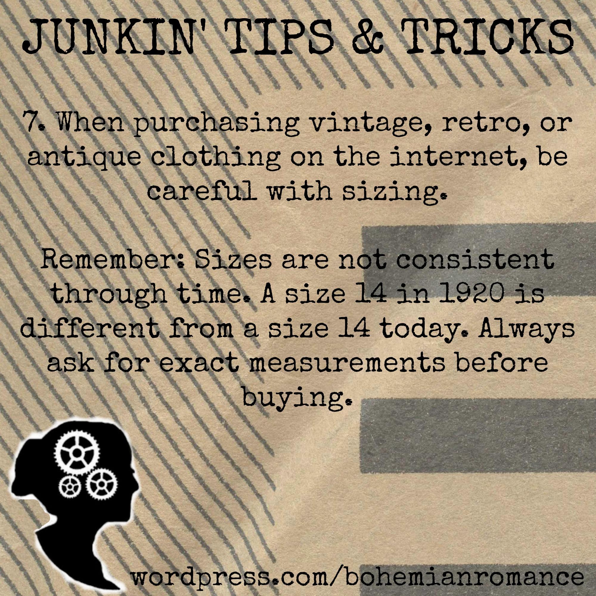 Junkin Tips 7