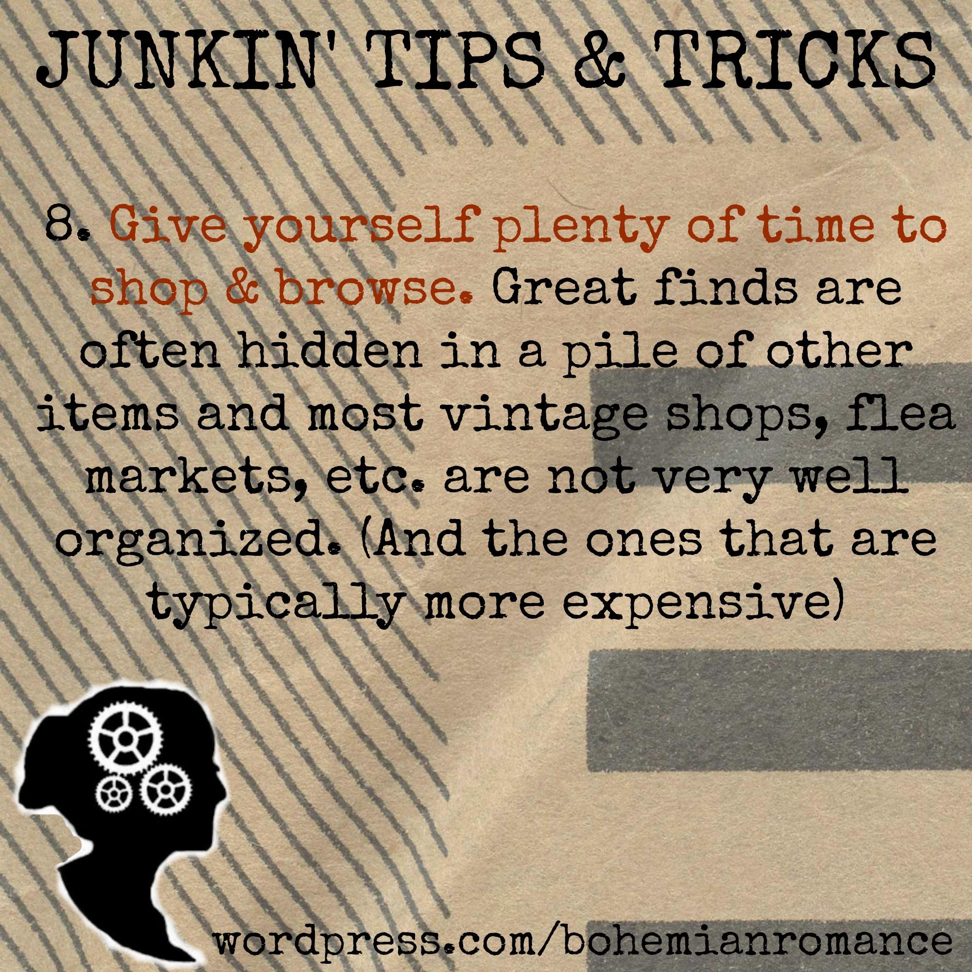 Junkin Tips 8
