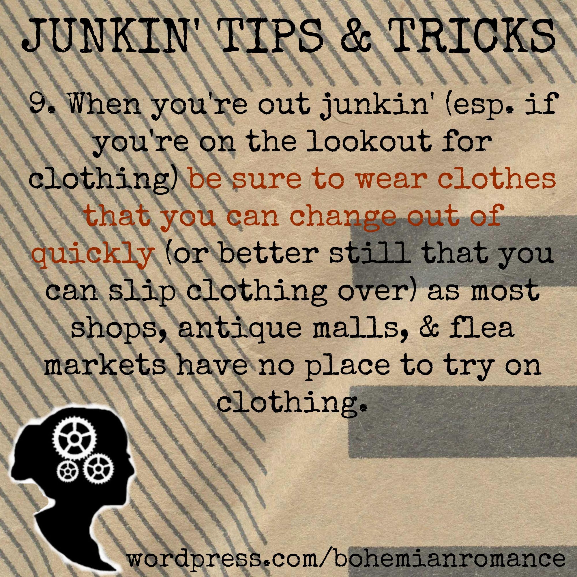 Junkin Tips 9