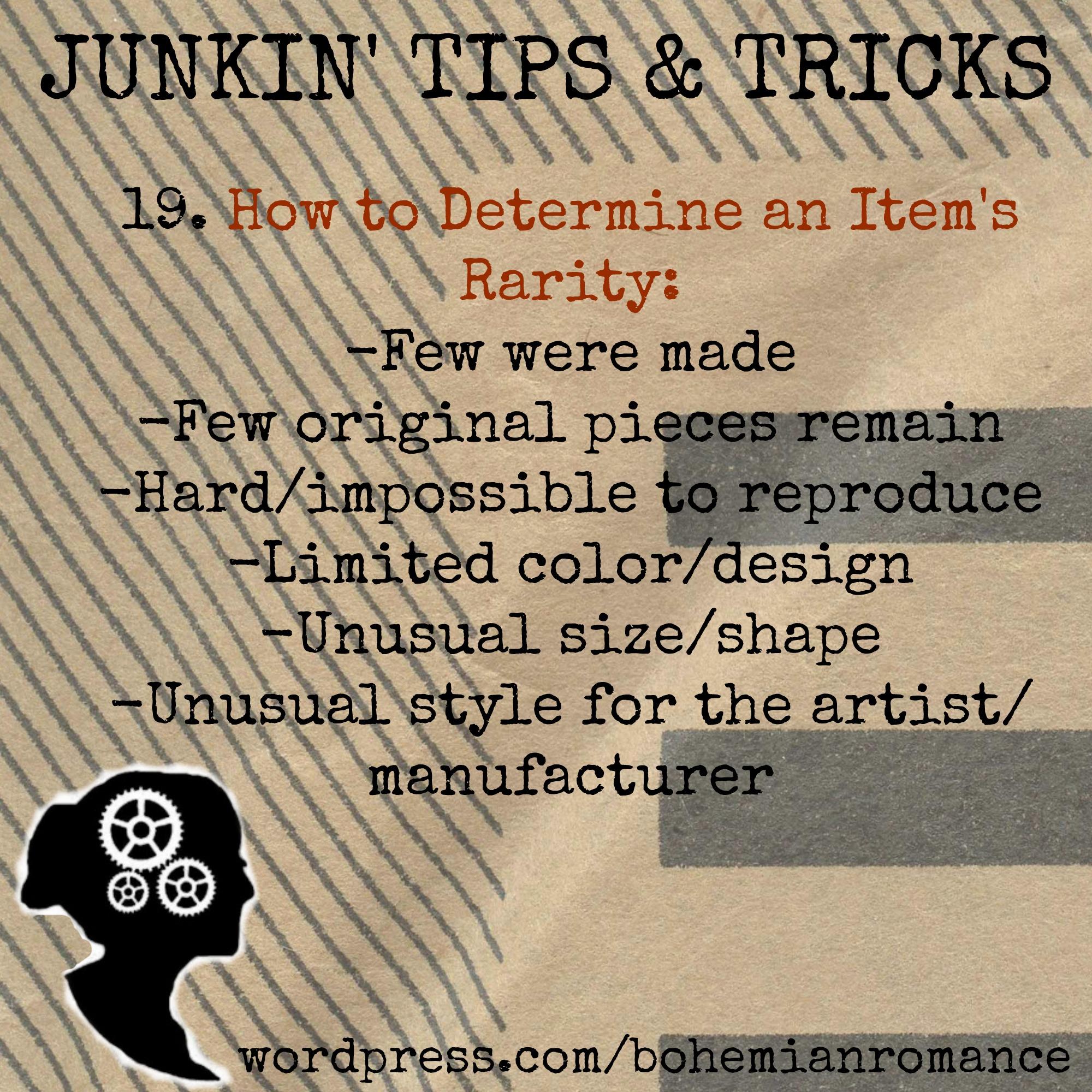 Junkin Tip 19