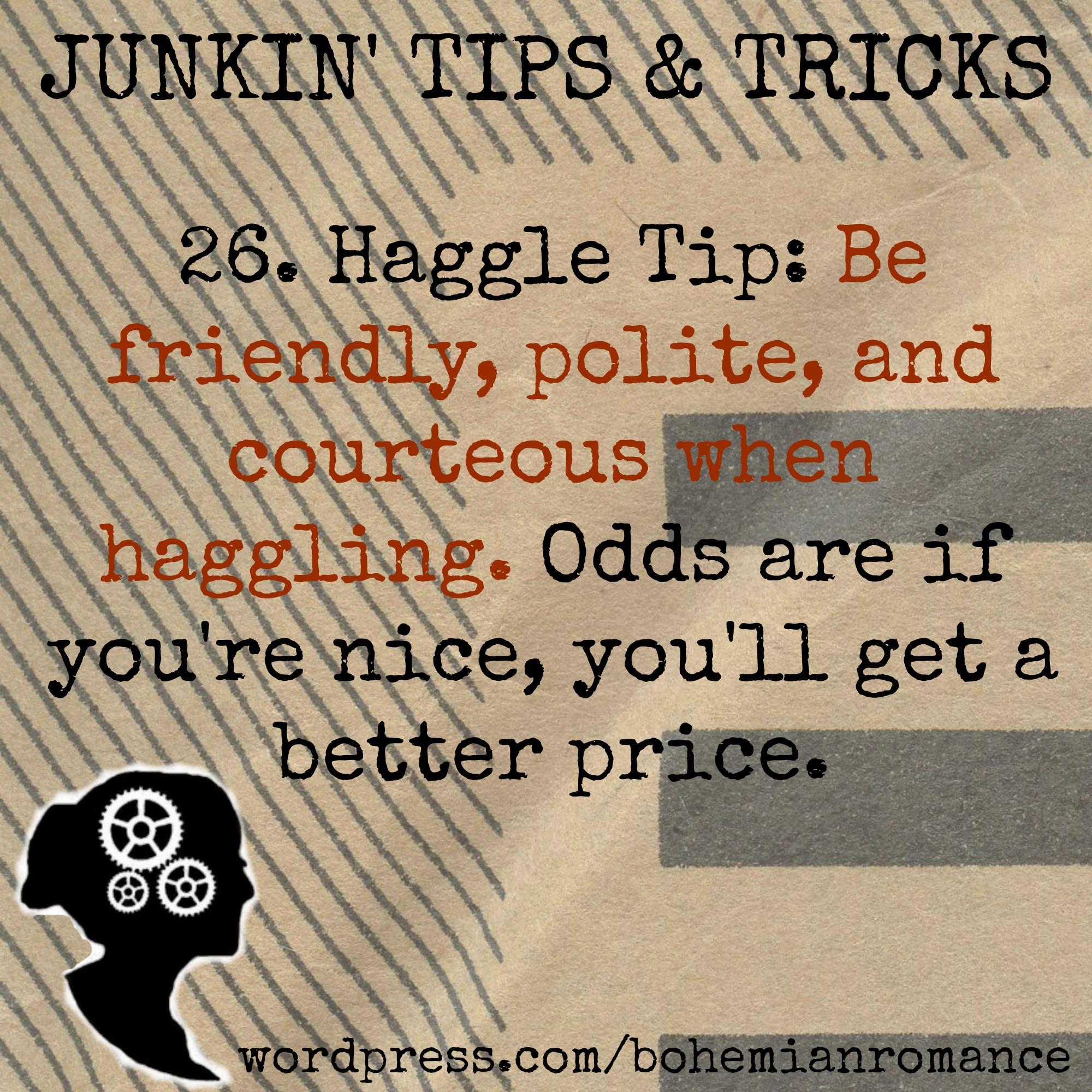 Junkin Tip 26