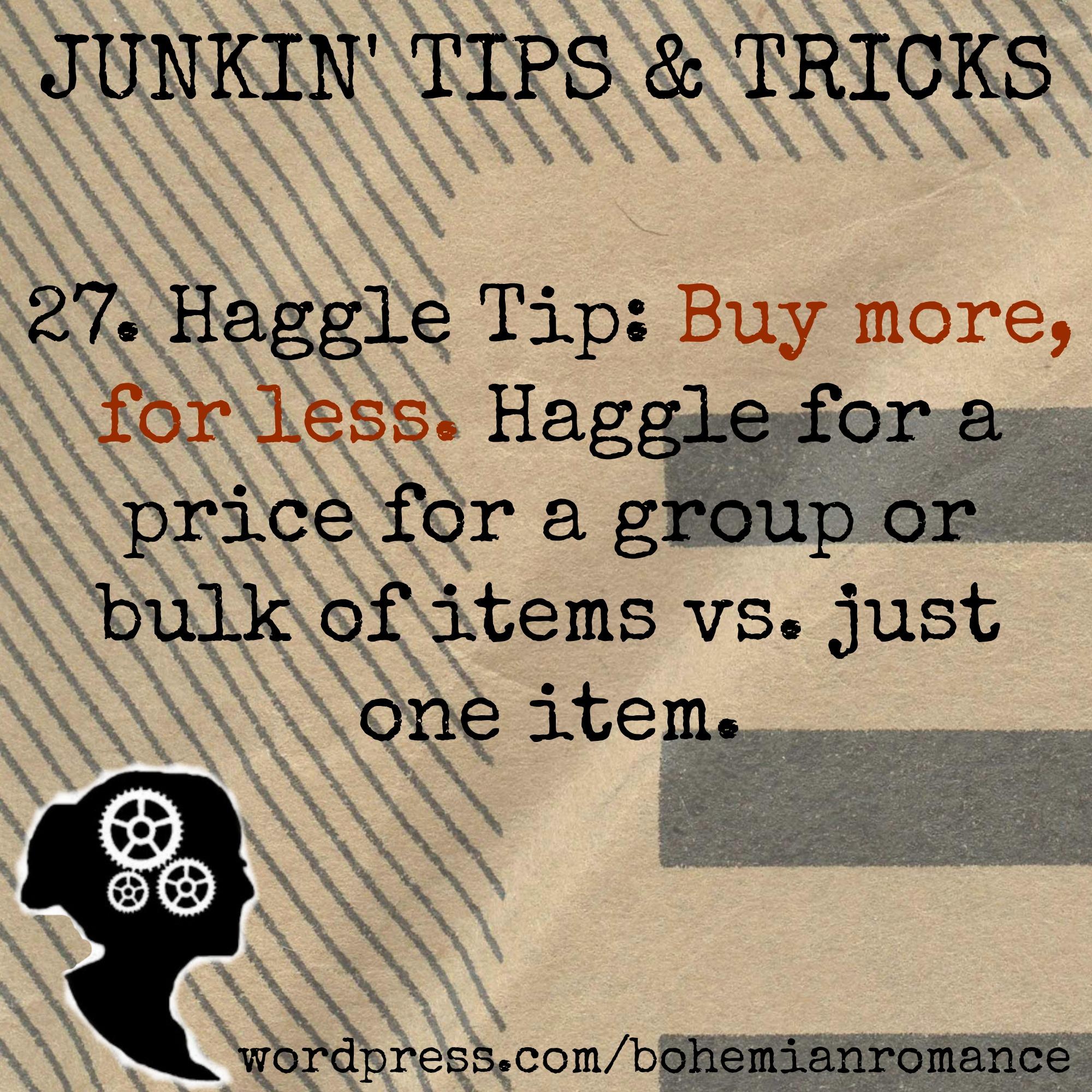 Junkin Tip 27