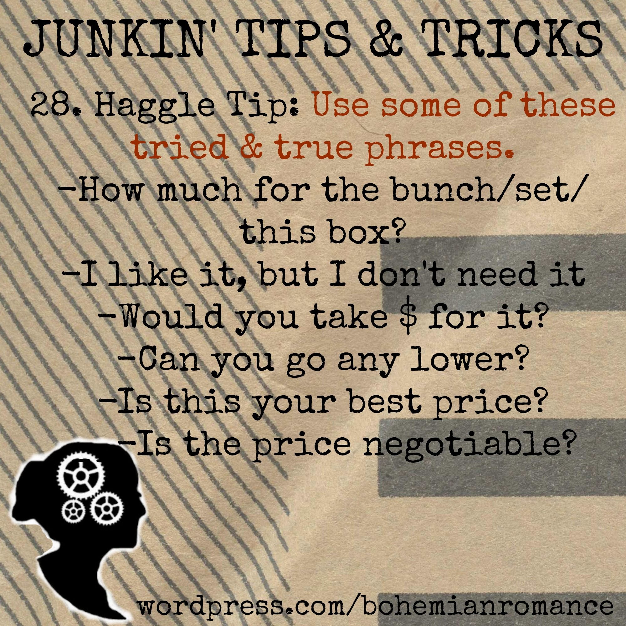 Junkin Tip 28