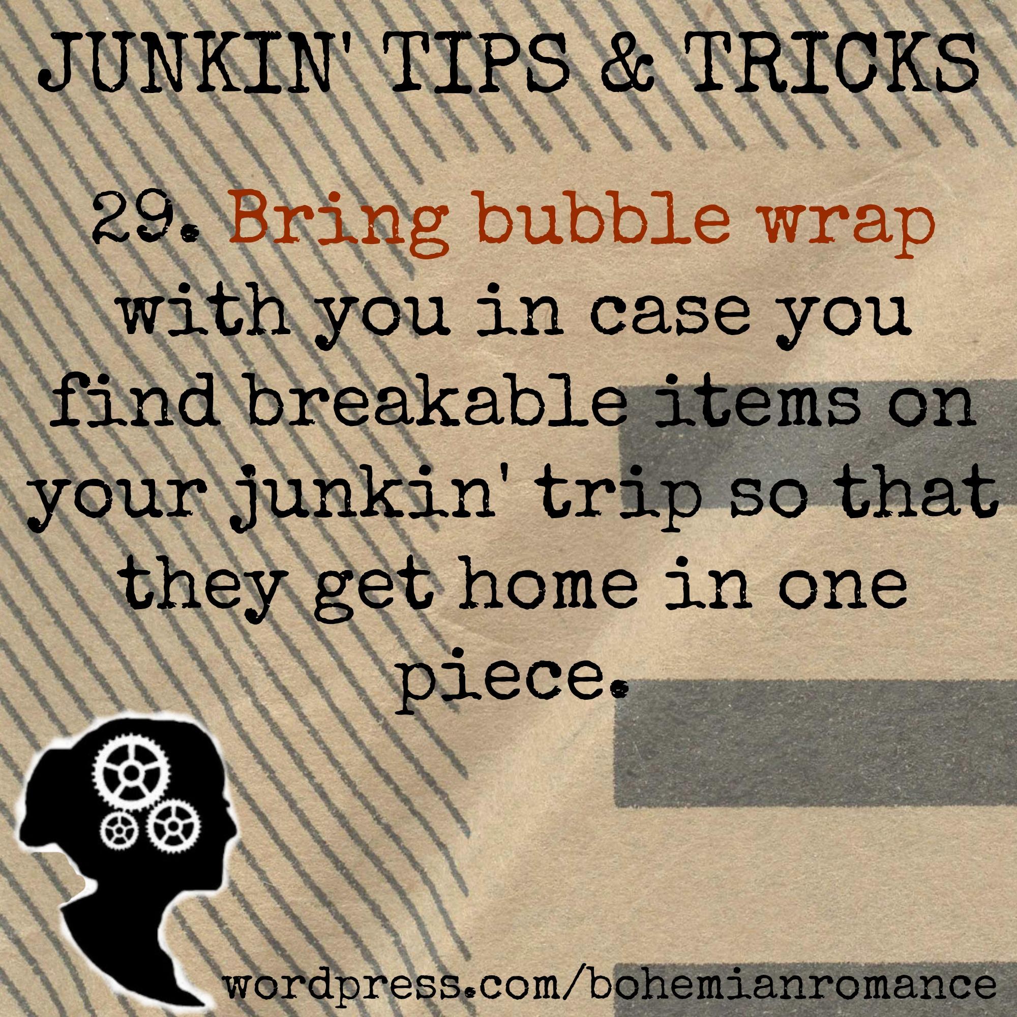 Junkin Tip 29