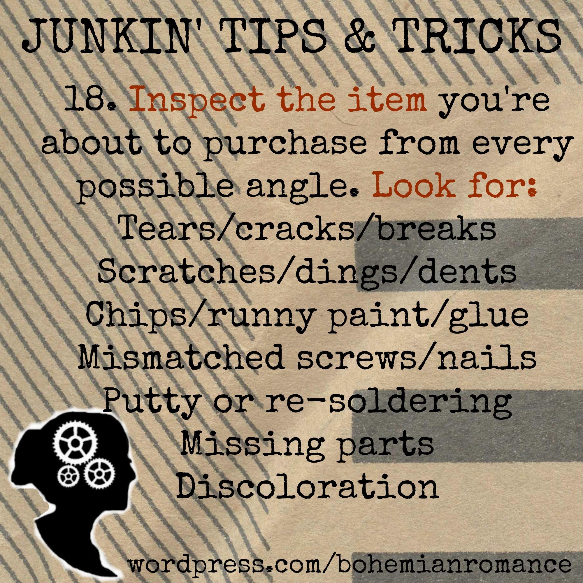 Junkin Tips 18