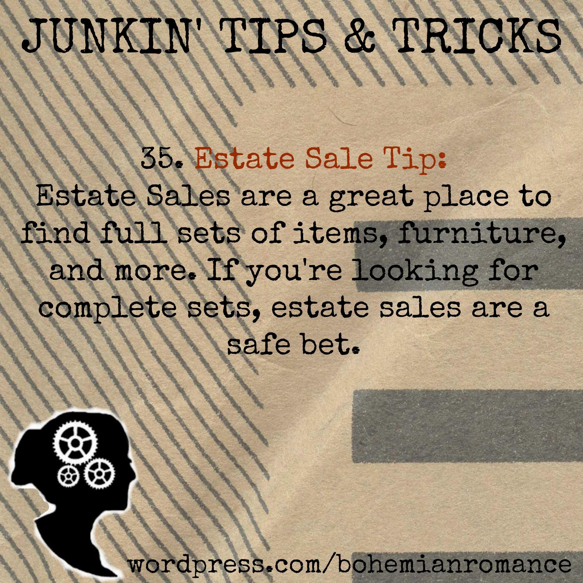 Junkin Tips 35