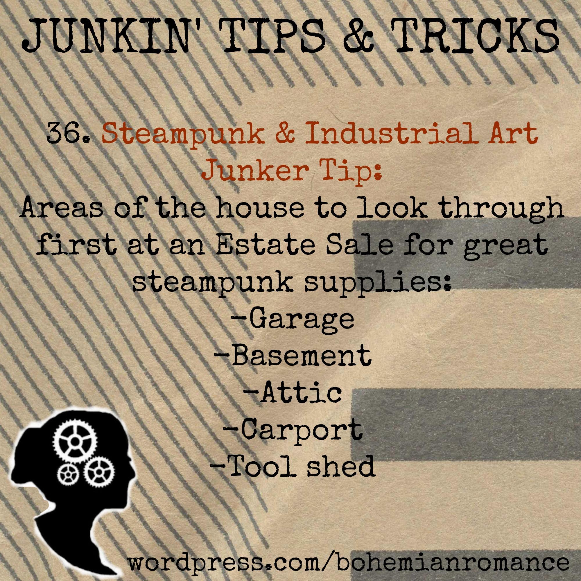 Junkin Tips 36