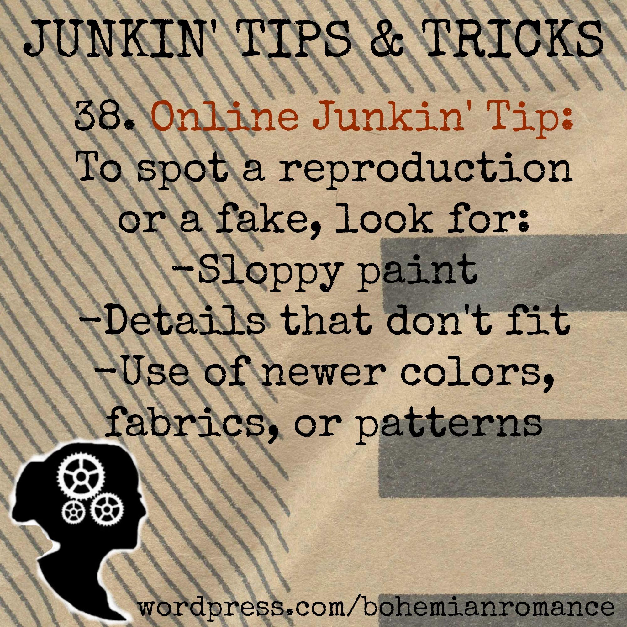 Junkin Tips 38