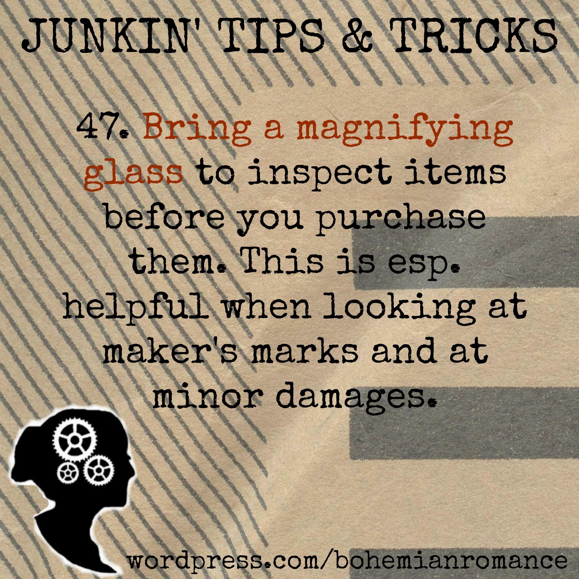 Junkin Tips 47