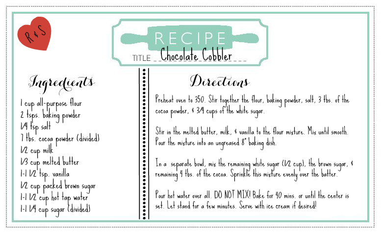Wedding Recipe 2