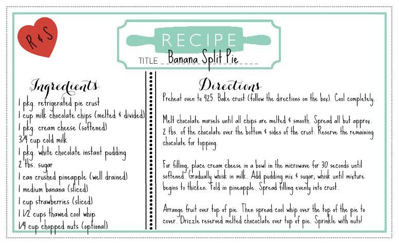 Wedding Recipe 3