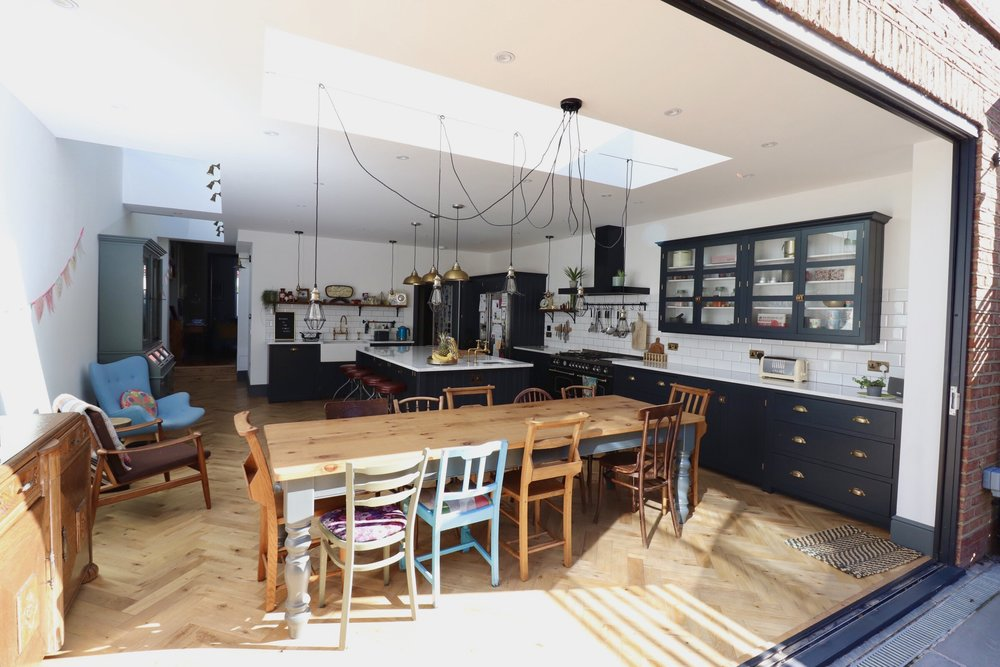 KITCHEN, RENOVATION, STEAM PUNK, EXTENSION, BIFOLD DOORS.jpeg