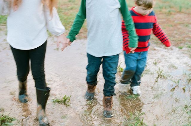 Muddy puddles, blurry memories #film