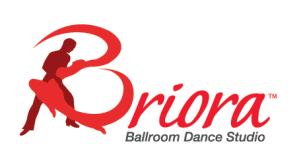 Briora Ballroom Dance Studio's Logo