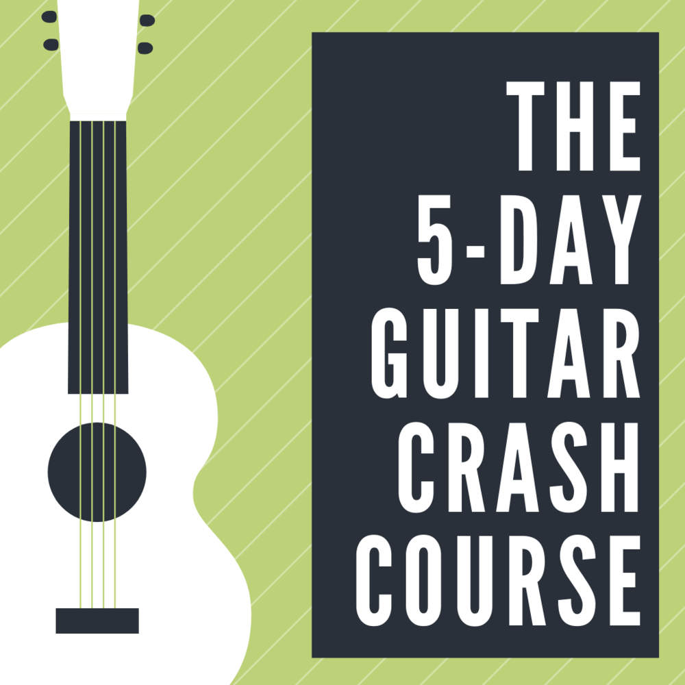 Guitar Crash Course - This 5-day email-based lecture series was created for those wanting to learn more about the background of the guitar and how it works. My goal is to spark your interest and help you determine if you would like to learn more about the guitar.