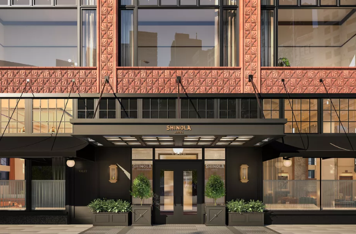 Detroit has some exciting new downtown hotels - The Siren Hotel opened in spring 2018, the Shinola is opening January 2, and the Element will open in the long-vacant Metropolitan Building early next year. Despite the addition of these relatively small boutique hotels, many business leaders feel that Detroit still lacks enough hotel rooms to attract large events such as the NCAA Final Four.