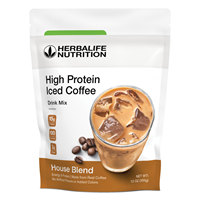 High Protein Iced Coffee: House Blend