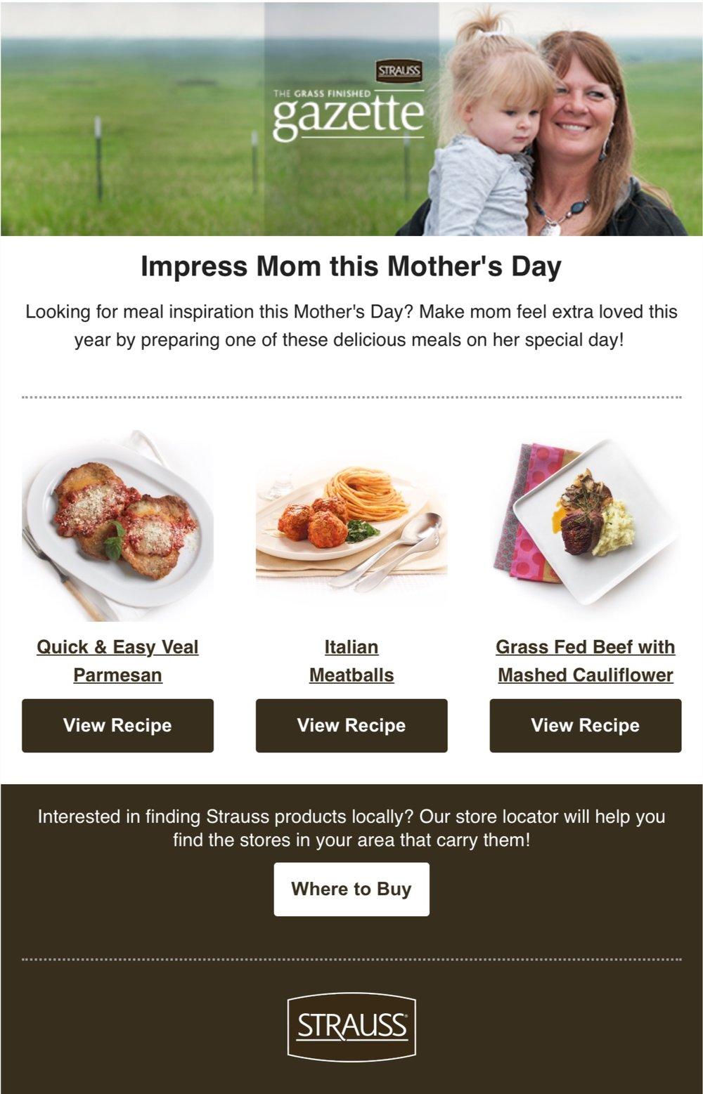 To Impress Mom (Strauss Brands)