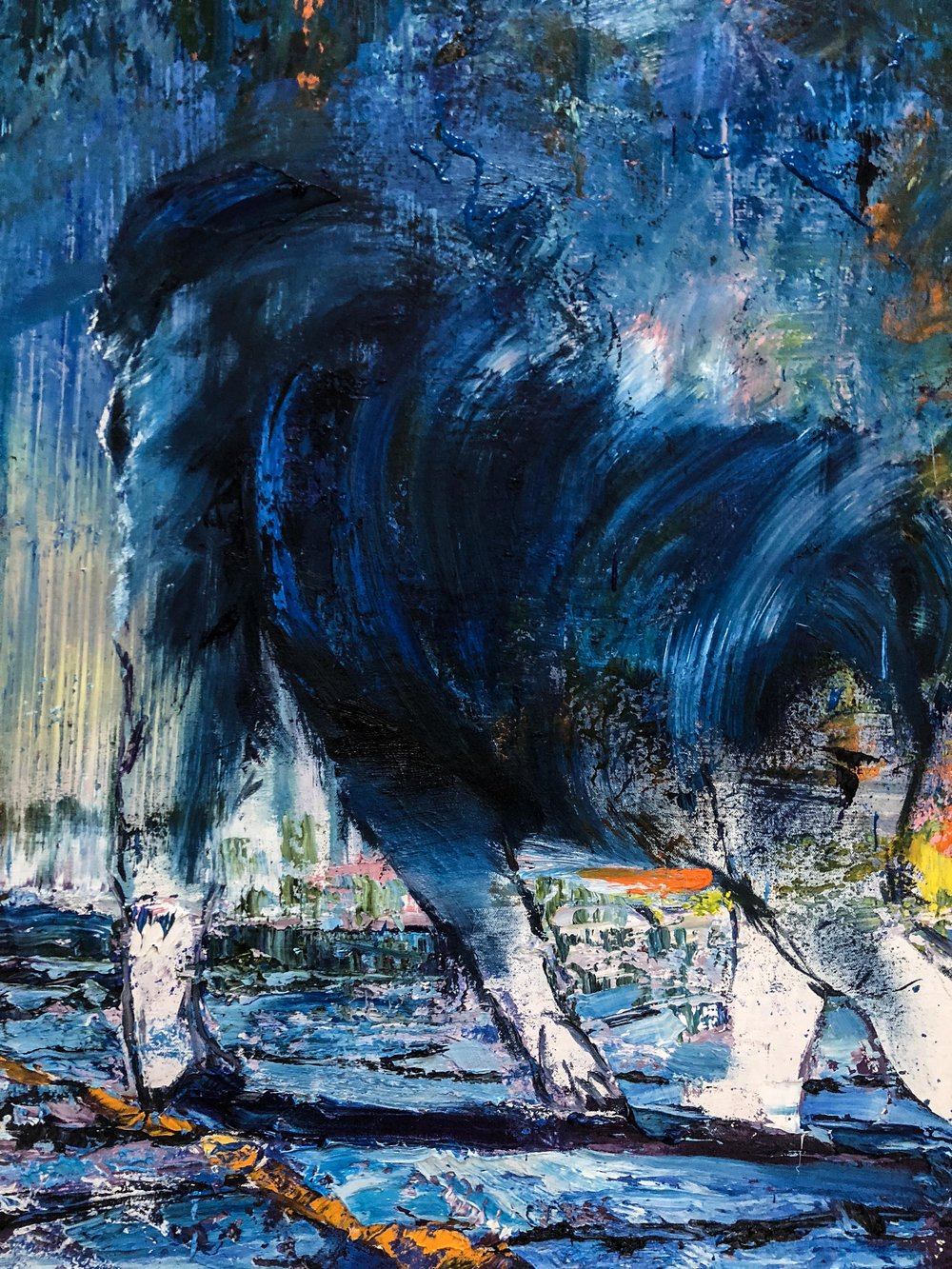 Chad Robertson Blue Gorilla Detail 03