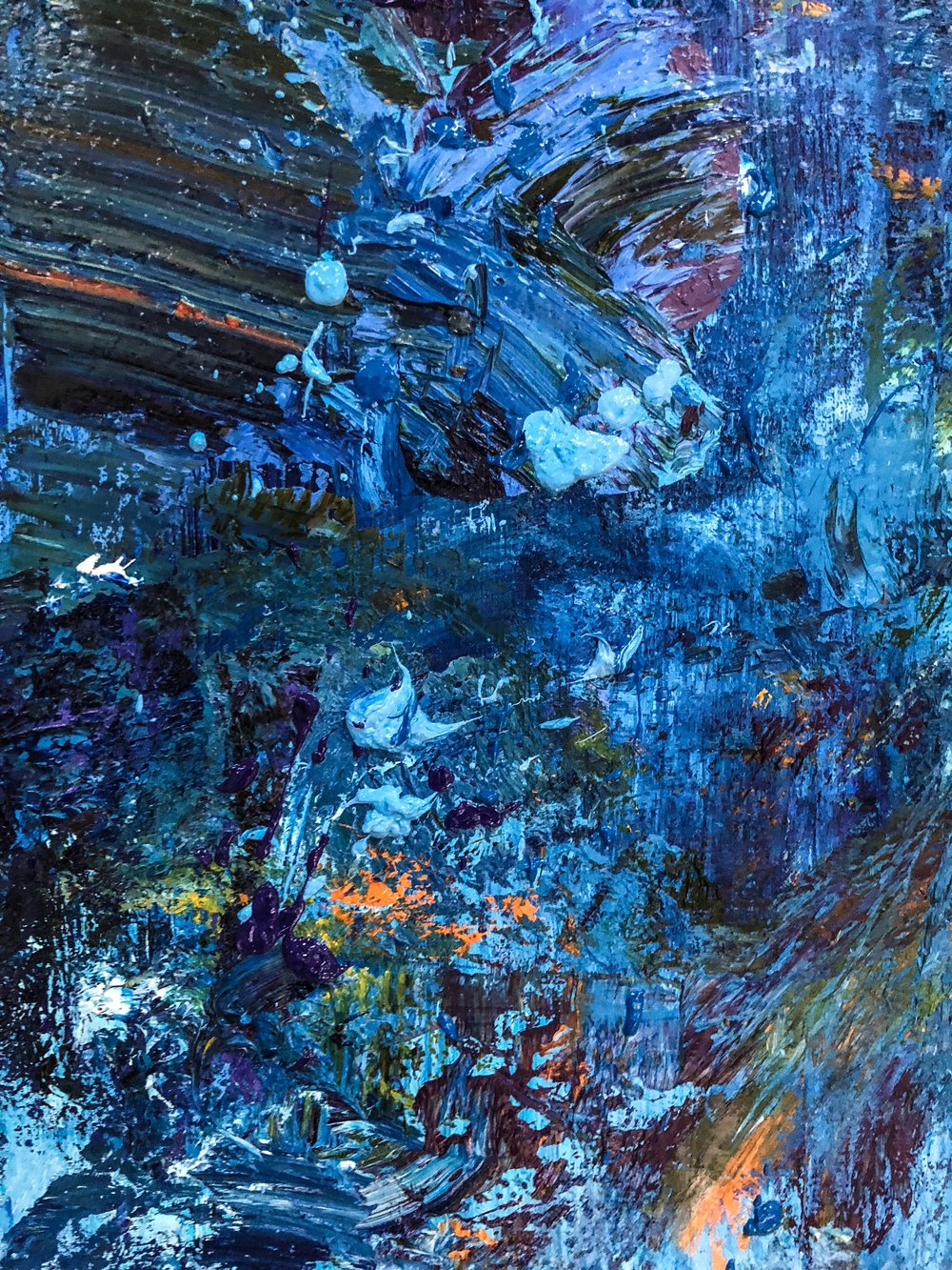 Chad Robertson Blue Gorilla Detail 02