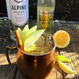 - Apple Cider Mule