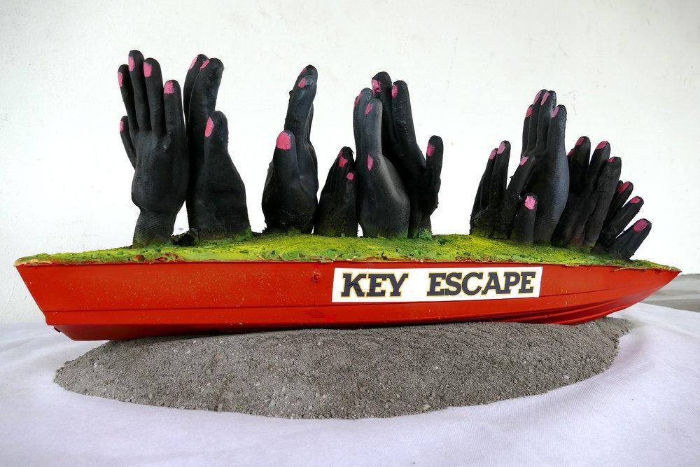 Ronald Cyrille (aka B. Bird), Key Escape, 2018