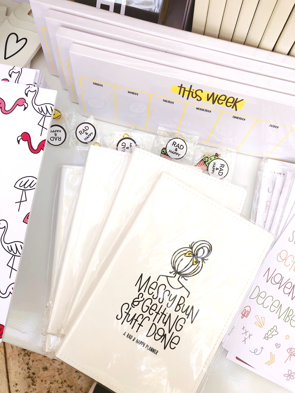 Notebooks by Tara of  Rad & Happy