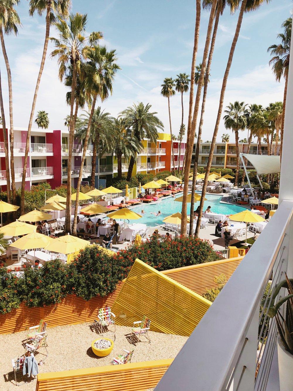 Saguaro Hotel Pool Area