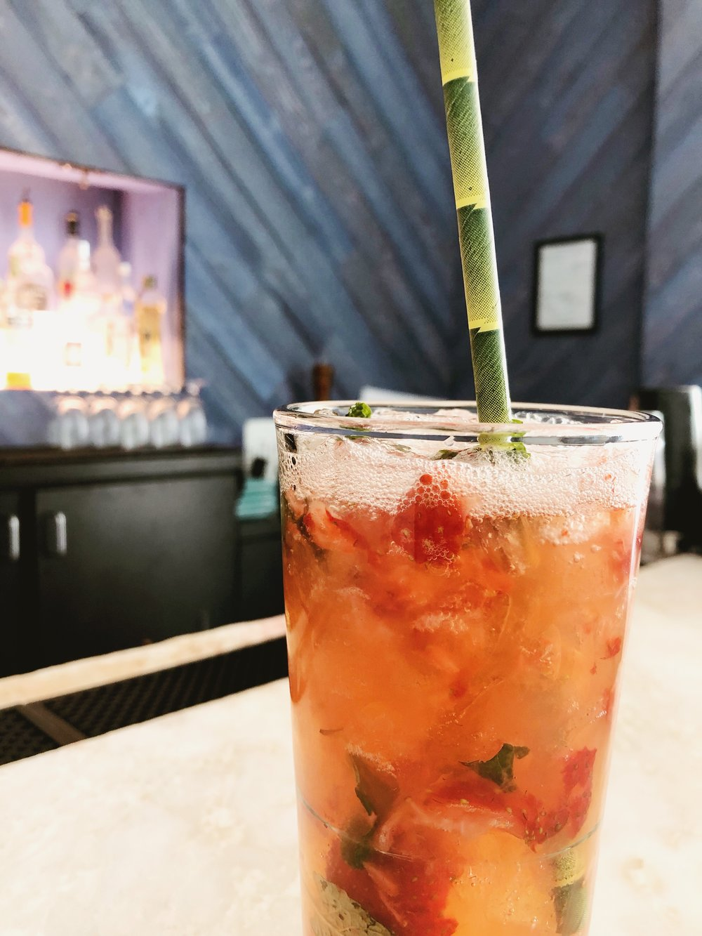 Strawberry Mojito from The Landing