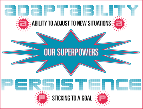 Adaptability and Persistence Superpowers