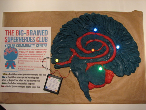 Big-Brain Squishy Circuit