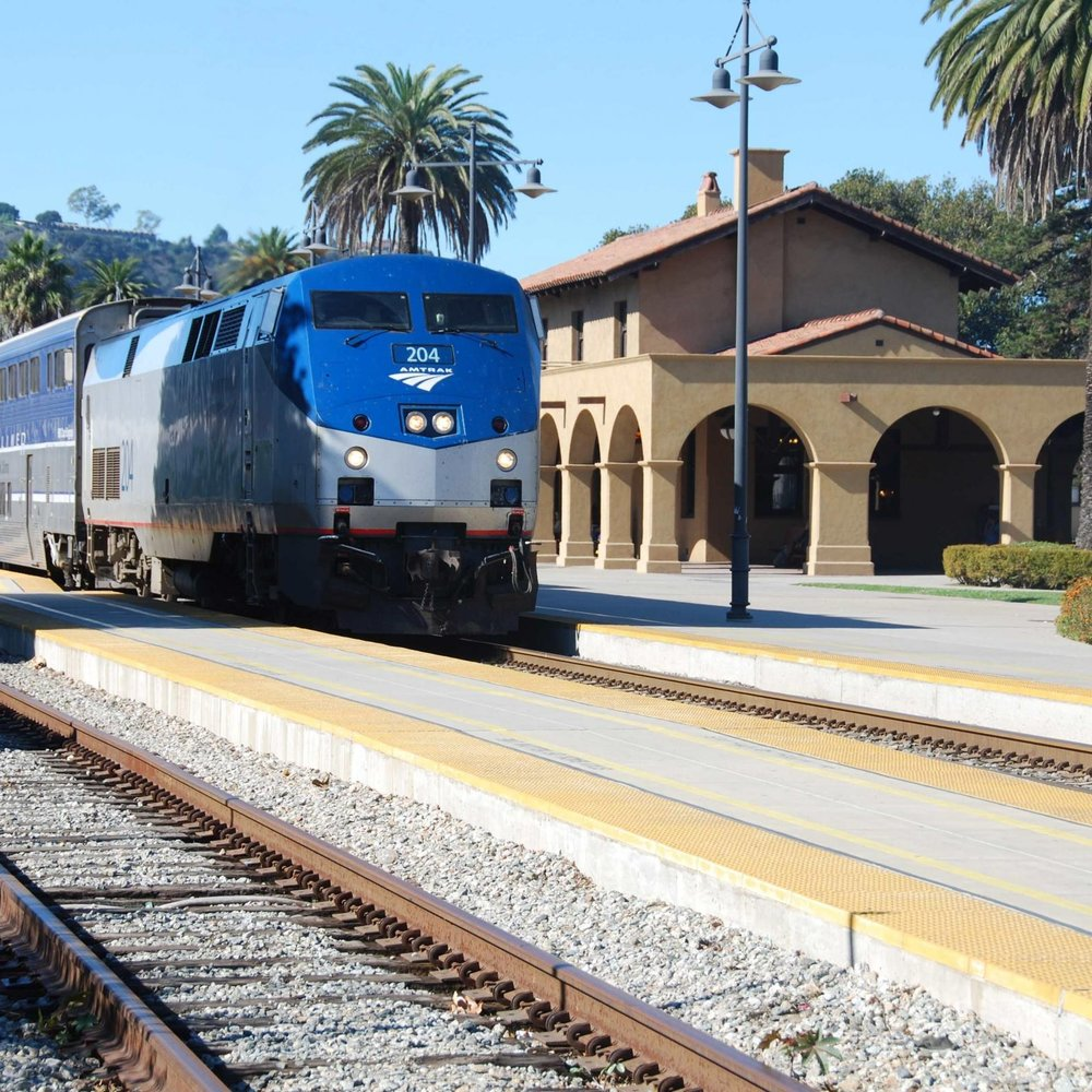 Train Station 2 blocks from Hotel Californian!