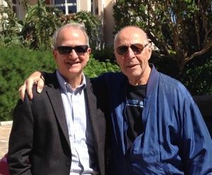 Doug and Ben Bova