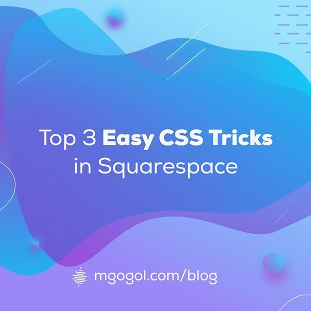 In this tutorial I will share with you the most common tricks that save your time and will make your website truly unique. .  This guide focuses on those who have no idea what CSS is and how to use it, so I tried to make it as simple as possible, easy to understand and easily repeatable, check link in the bio 🙌🏻 . #squarespace #squarespacedesigner #brandstudio #creativebiz #smallbusiness #squarespacecircle #workforyourself #websitedesign #designlife #websitedesigner #webdesigner #onlinebusiness #creativedesigner #designisinthedetails #graphicdesigner #squarespacedeveloper #smallbusinessowner