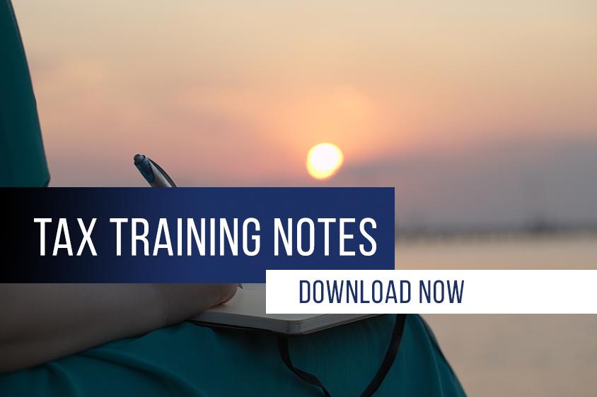 tax-training