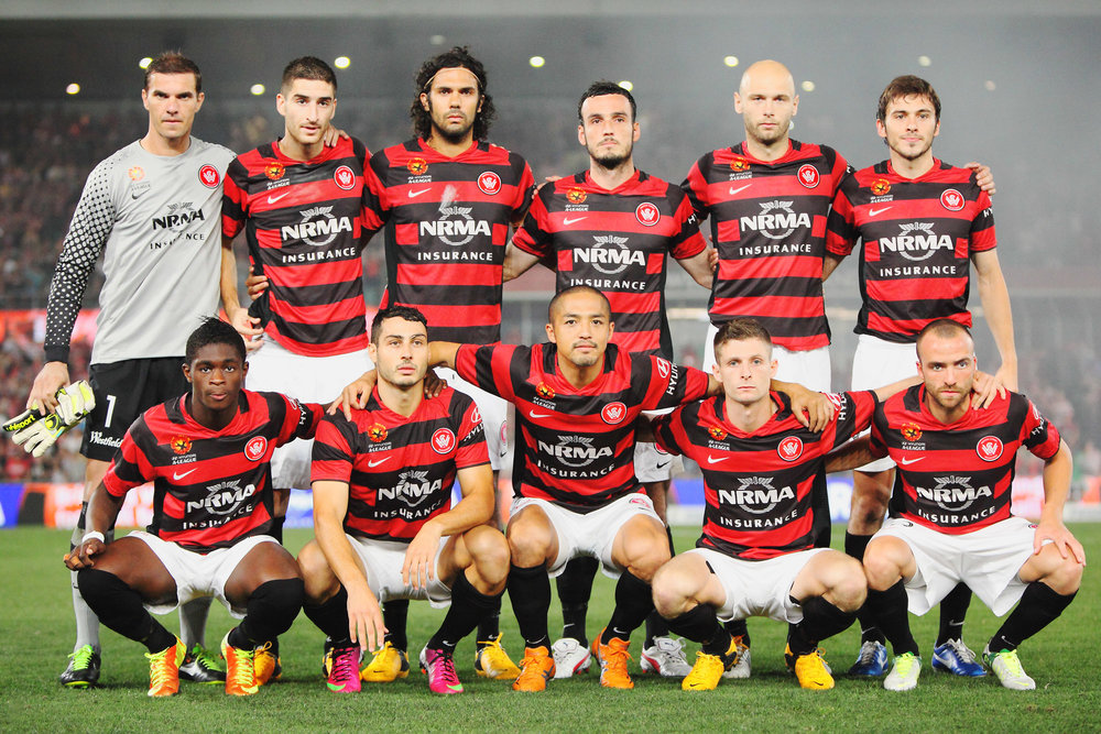 2013 - Western Sydney Wanderers FC: by George Suresh