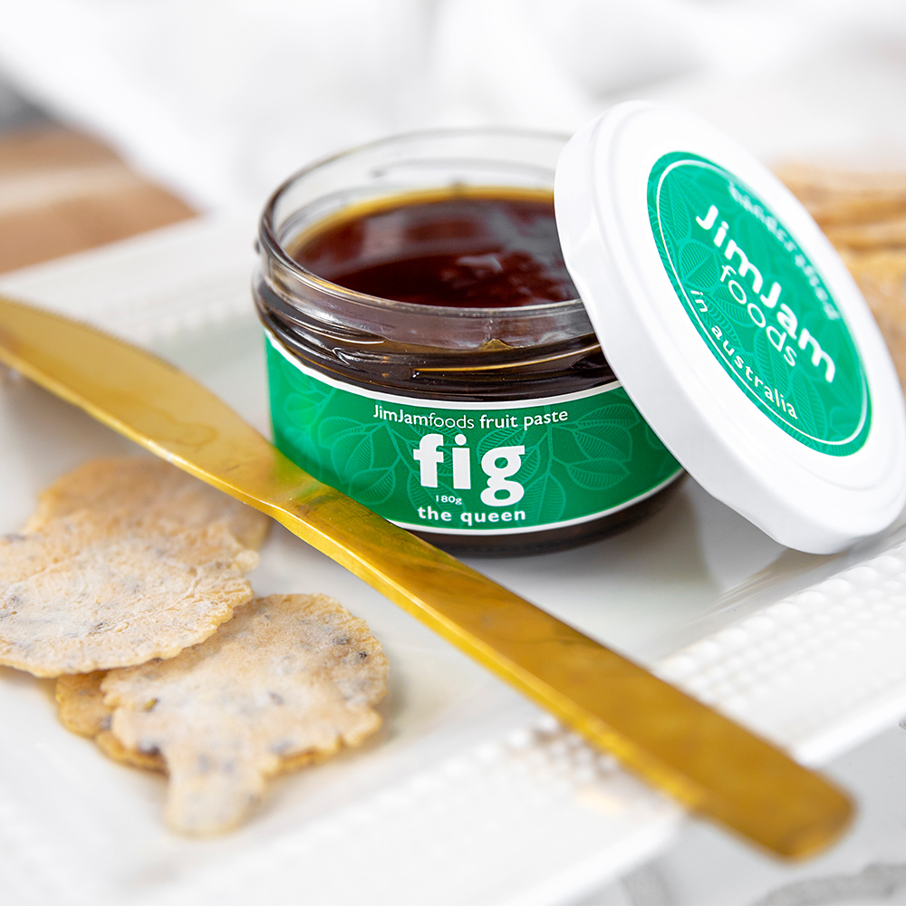 @jimjamfoods    Fig Fruit Paste  is that delicious sweetness that every platter needs.