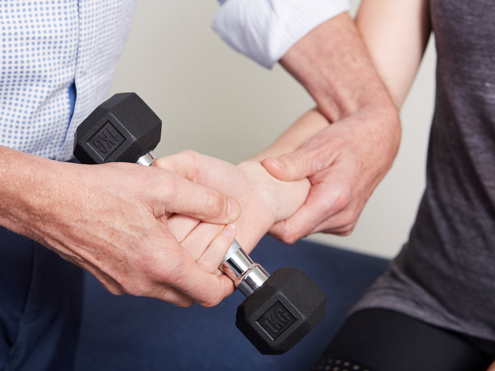 Musculoskeletal disorders of the elbow wrist and hand can range from the tendon pain of tennis or golfer's elbow to fractures following falls or trauma. -
