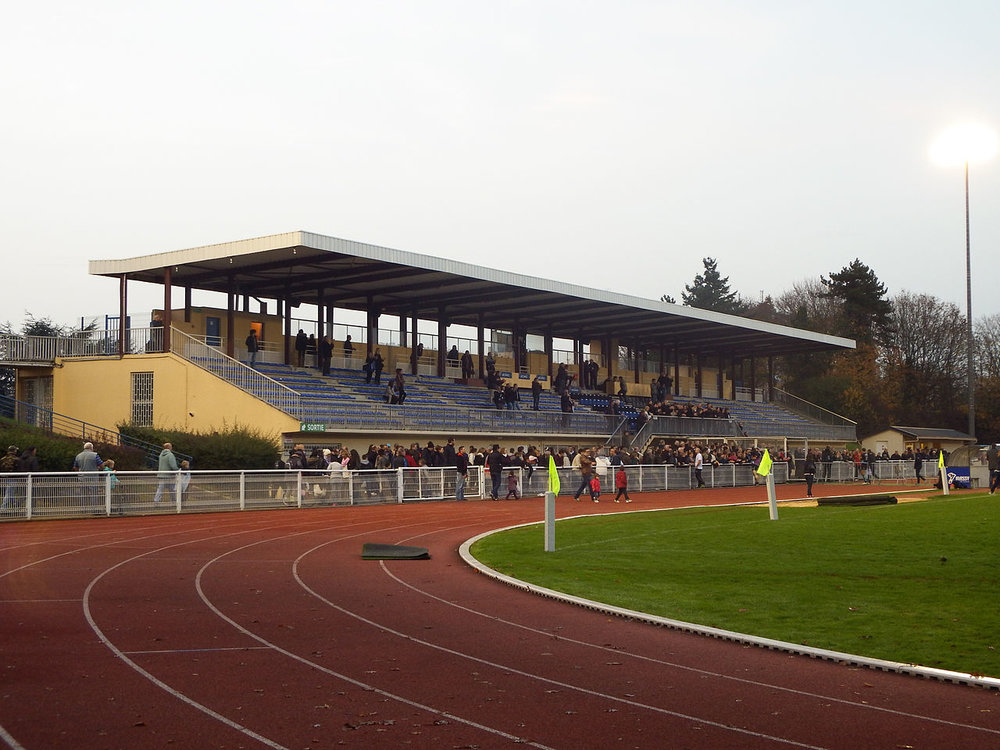 Le stade Jules-Ladoumègue - Massy