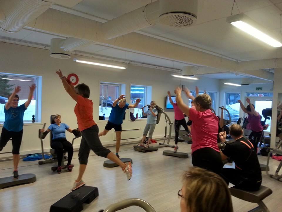 Sirkeltrening med akupunktør Kari Lise