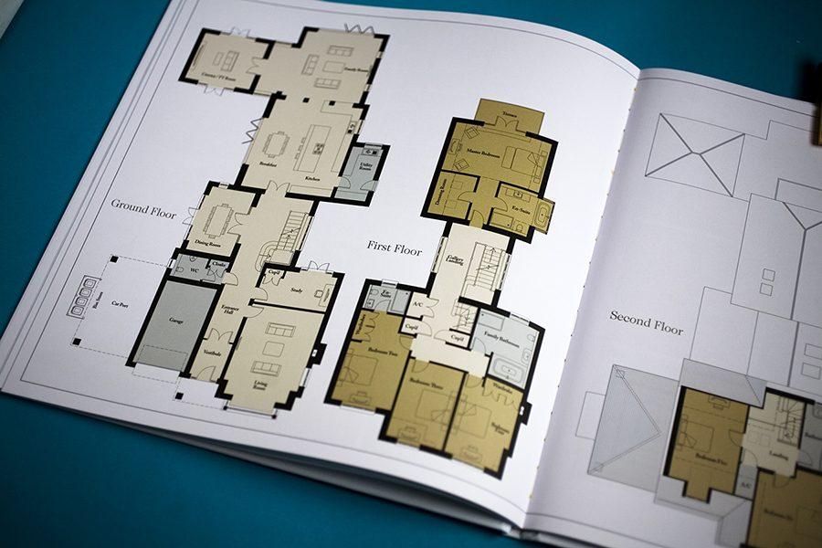 2D home floor plan