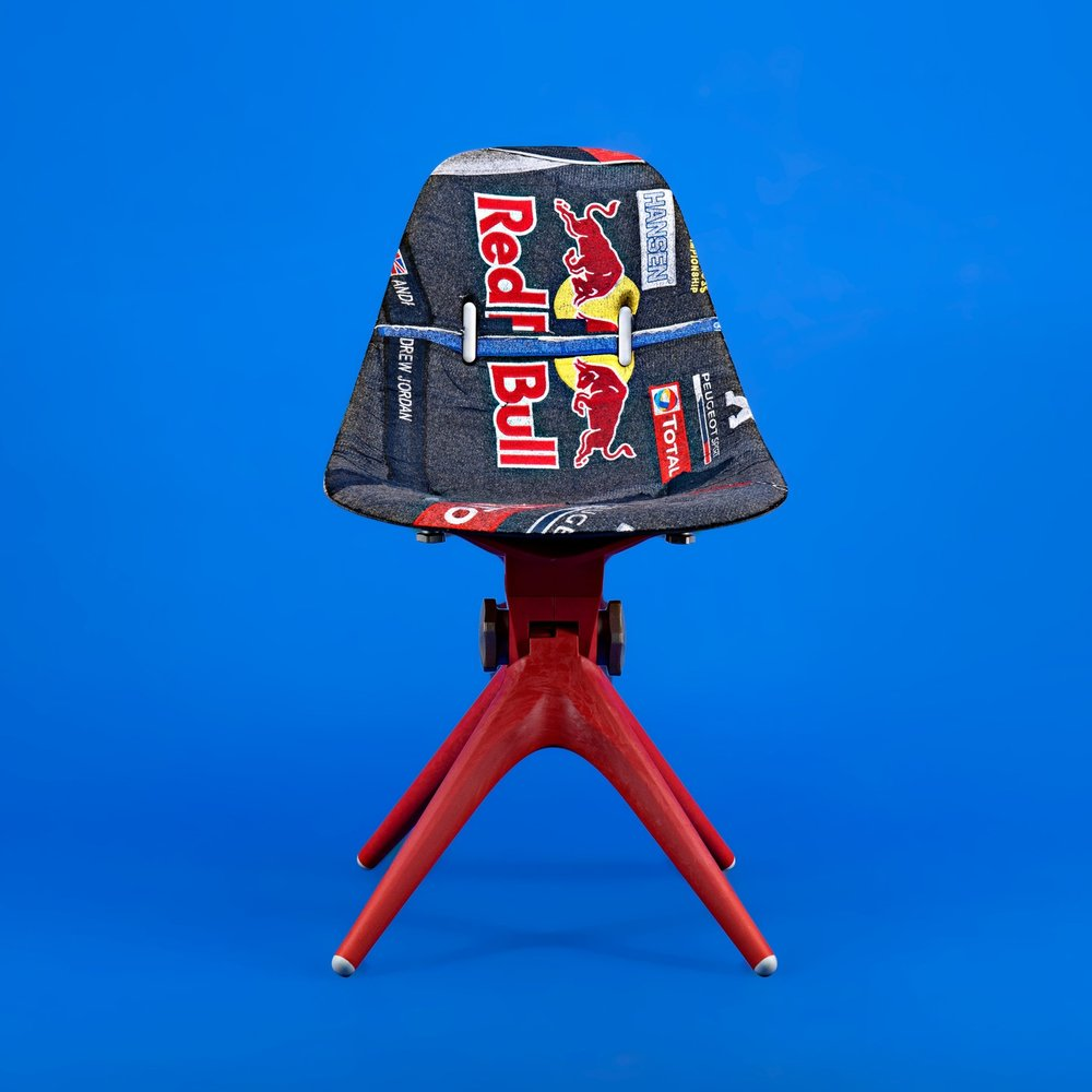 redbull custom chair