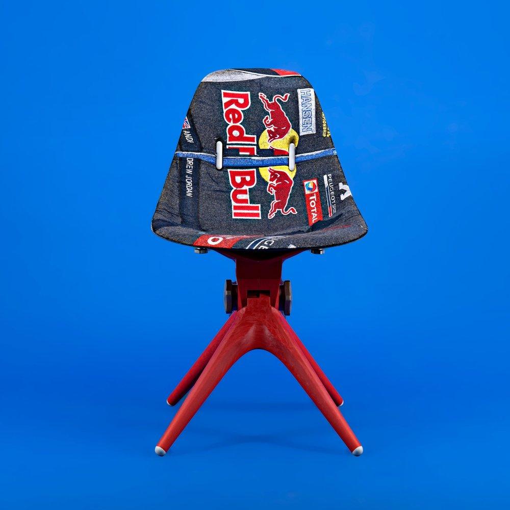 redbull custom chair